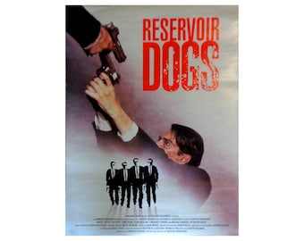 Reservoir Dogs Vintage Original movie Poster Quentin Tarantino cinema Memorabilia 1991 Dog Eat Dog Collectable Art Picture Hollywood (X)