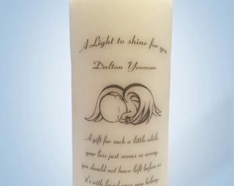 Baby Memorial Candles