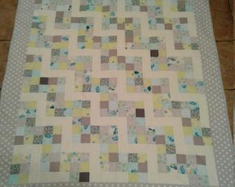 Springtime lap quilt