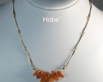 Hobe' Raw Citrine Necklace