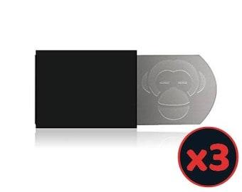 Set of 3 hides universal webcam laptop case - made in France