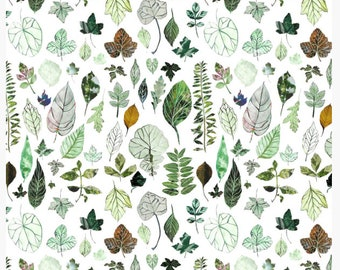 Backyard Herbarium - Fabric