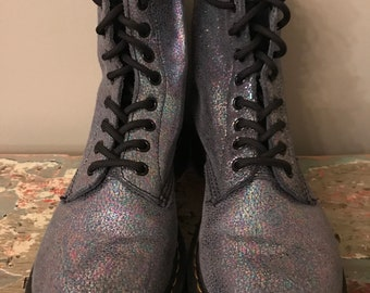 Sparkly Doc. Marten Boots