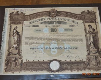 Hungary first Budapest Banking company set of 3