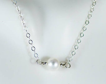 L'amour Necklace - Fresh Water Pearl