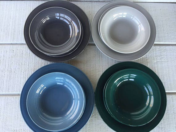 & Vintage Nancy Calhoun Dinnerware Dishes Vintage 1980u0027s