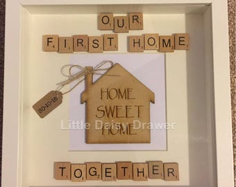 Our First Home Keepsake Frame