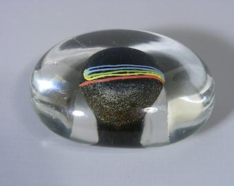 Kosta Boda Pebble Paperweight, Bertil Vallien, Glass Paperweight, Glass Pebble, Kosta Boda, Art Glass, Pebble Paperweight, Free UK Postage