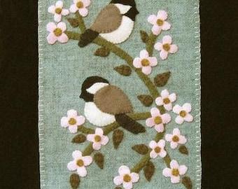 Spring Banner - Chickadees
