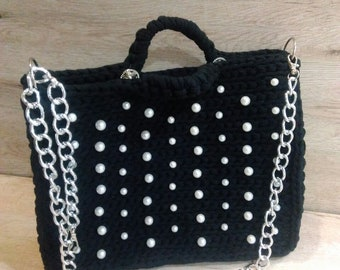 Original black women's crossbody bag RESERVED