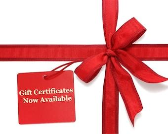 Wild Stitchers Gift Certiticate