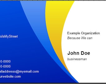 Completely Custom Business Cards