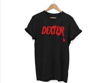Dexter, Dexter tv show, dexter morgan, dexters t-shirt, nerdy gift, dexter showtime, slice of life, dexter blood, blood splatter, tv show