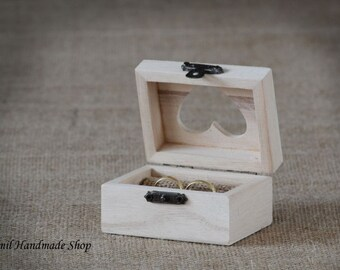 Ring Box, Ring Pillow,  Ring Bearer, Wooden Box