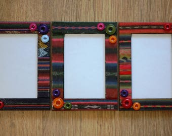 3 Frames in the Patchwork style set