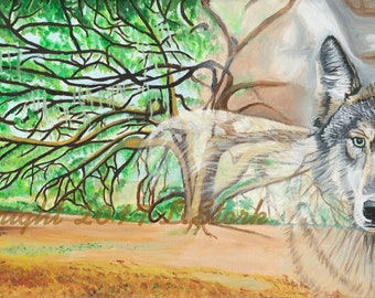The Wolf and the Oak Tree