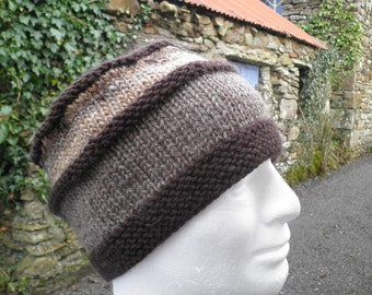 KNITTING PATTERNS Gift for Men Handmade Beanie Boyfriend Gift Knitting Digital Download Dad Hat Birthday Gift For Him Mens Gift  BohoVERMONT
