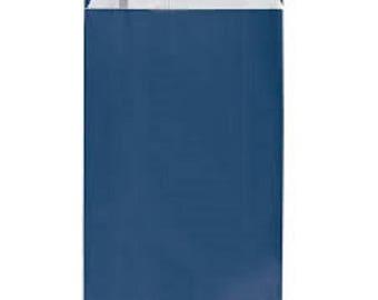 lot 50 pouches bags bags envelopes kraft 7 x 12 Blue Navy