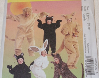 New McCall's Costumes  Pattern M6106 Large  (38-40)