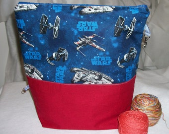 BlueButterflyBags Jumbo Sized project bag