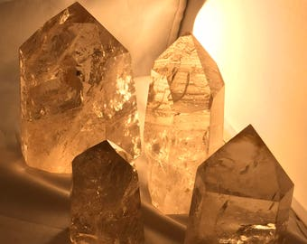 Faceted Citrine -Varying Sizes