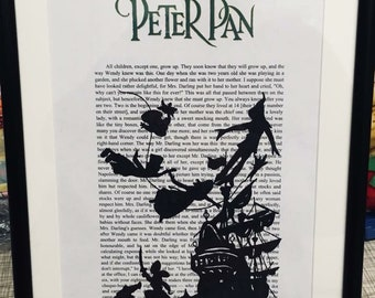 Peter Pan book extract art