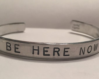 Be Here Now Cuff Bracelet