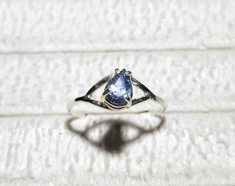 Lovely Montana Sapphire ring