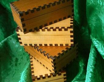 3.5 x 2.1 x 1.25 Cedar Trinket Box