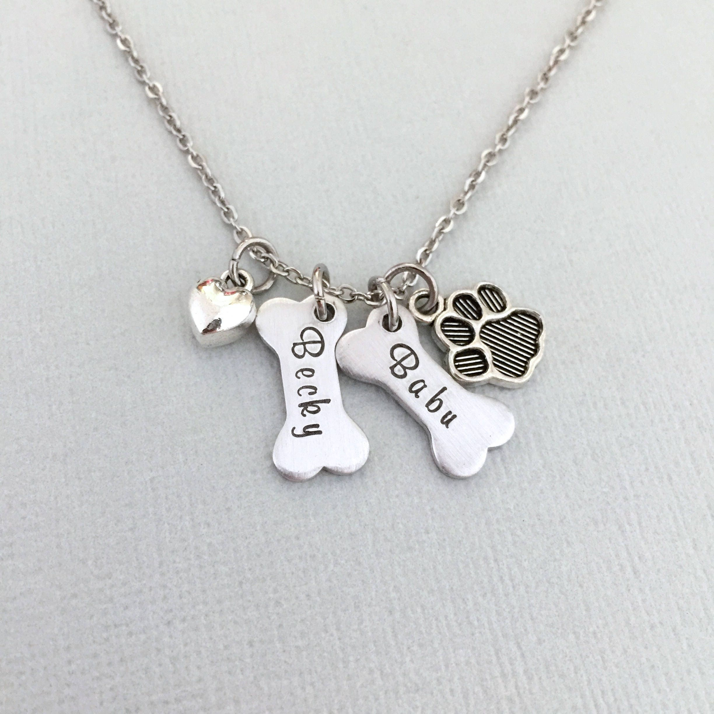 mom fullxfull personalised dog necklace bone listing il rescue zoom