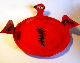 Red Duck Fruit Tray