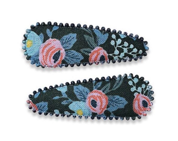 "RIFLE PAPER Co. HAIRCLIPS handmade by Josie Joan's ""Sadie"""