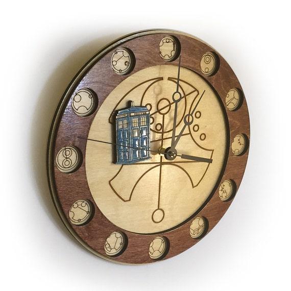 Doctor Who Gallifreyan Clock