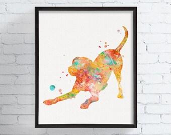 Labrador Retriever Art - Labrador Retriever Print - Watercolor Labrador Retriever - Labrador Retriever Painting - Labrador Retriever Poster