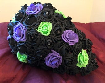 10in Cascading Bridal Bouquet