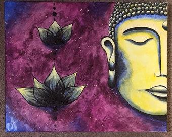 Buddha/Lotus Painting