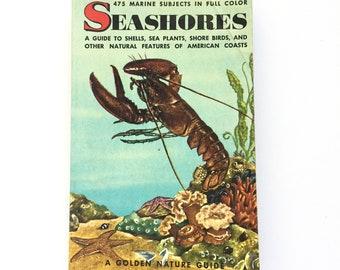 Seashores- Golden Nature Guide / Vintage Golden Guide / Vintage Field Guide / Book on the Ocean / Beach Book / Homeschool Book