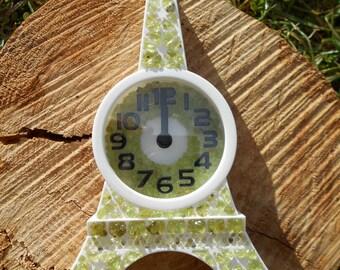 Eiffel Tower quartz alarm clock