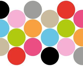 Round stickers (18 x)