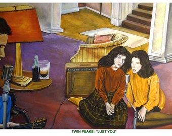TWIN PEAKS  Fine Art Quality Print  David Lynch   By Phil Born