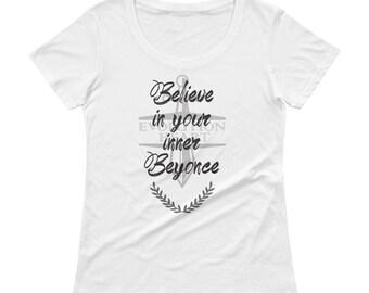 Beyonce's Ladies' Scoopneck T-Shirt