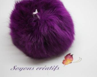 Beautiful tassel Angora 8cm-purple SC0080828 - sewing - jewelry