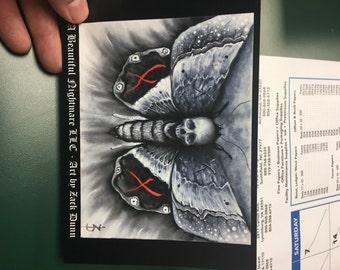Death Moth (stickers)