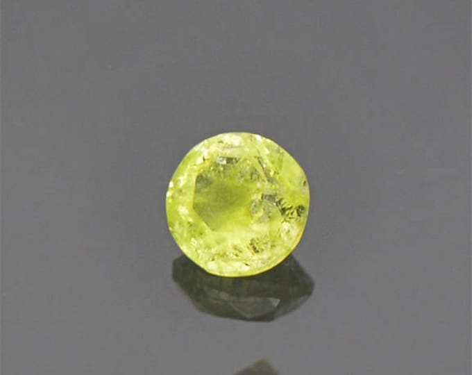Rare Bright Yellow Milarite Gemstone from Namibia 0.28 cts.