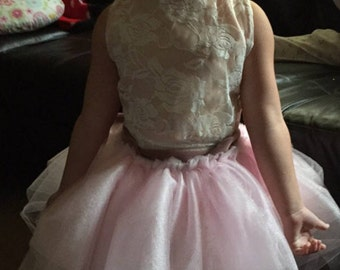 Made to order flower girl dress - any fabric - any color - any design