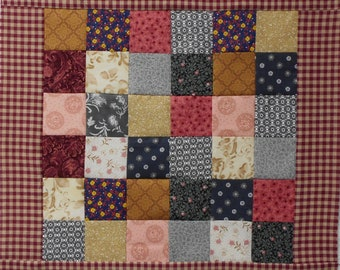 """Doll  Quilt Top 16 1/2"""" X 16 1/2"""""""
