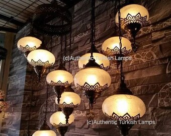 Turkish lamp etsy 5 glass chandelier lamp chandelier light moroccan lightmoroccan lighting turkish light aloadofball Choice Image