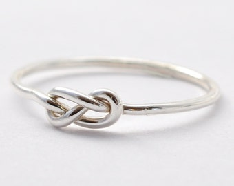 Silver Infinity Ring: Gift for Teenage Girls