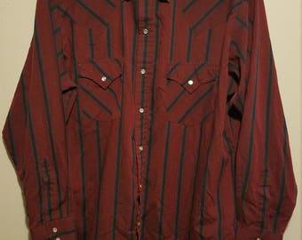 Vintage Mens Western Shirt