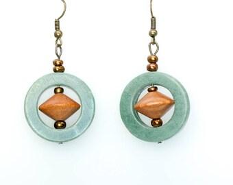 Unique Geometric Earrings